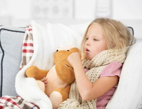 У ребенка кашель и