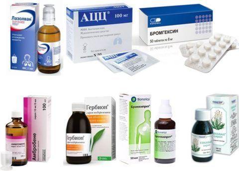 Препараты для лечения кашля подбирает врач
