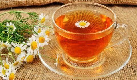 Ромашковый чай - отличный помощник в лечении кашля