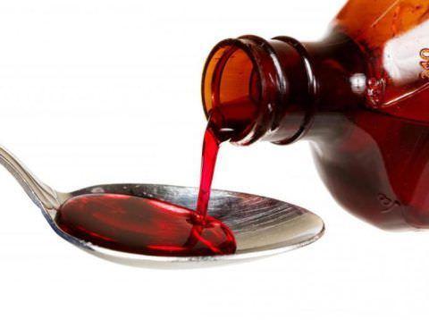 Средства от кашля часто выпускаются в форме сиропов