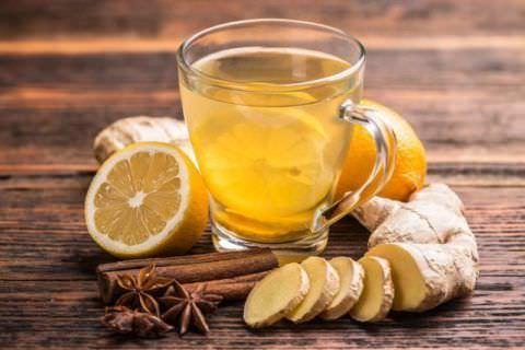 Имбирный напиток полезен в лечении кашля