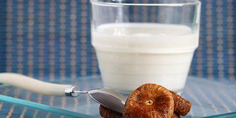 Инжир с молоком - эффективное средство от кашля