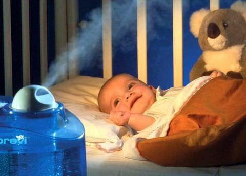 Воздух в детской должен обладать оптимальной влажностью