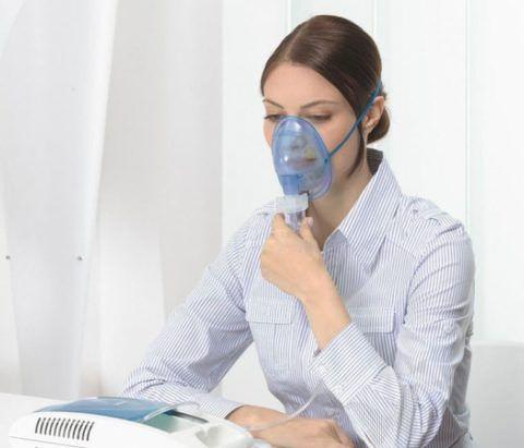 Применение небулайзера облегчает лечение кашля