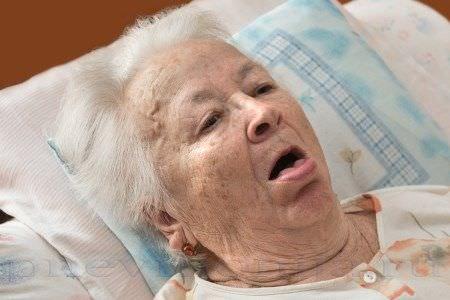 Кашель после инсульта