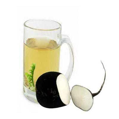 Полезно давать сок, полученный от черной редьки