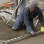 Работа с цементом без соответствующих мер защиты