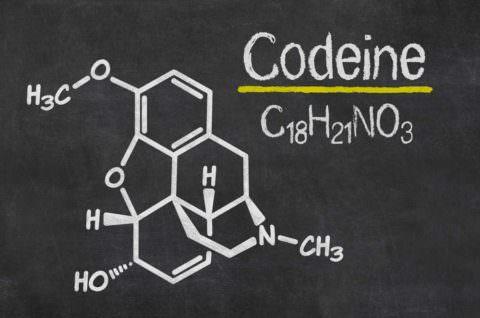 Структура кодеина