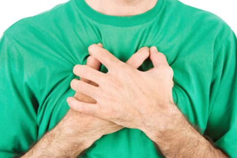 Боль в груди в сочетании с кашлем