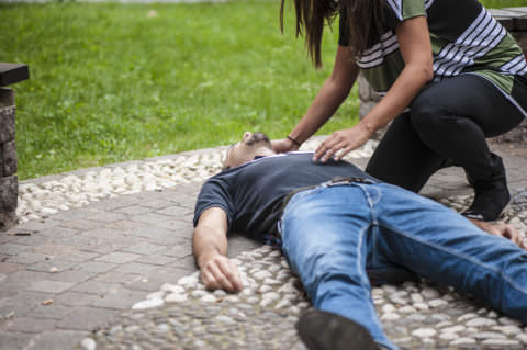 Падение может спровоцировать травмы