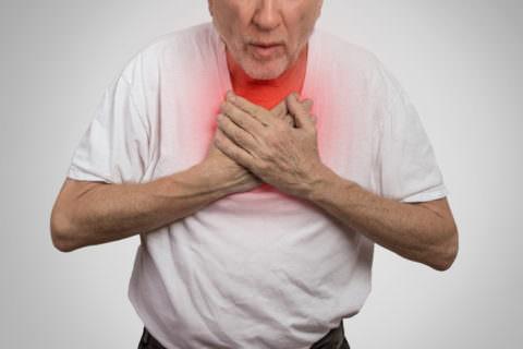 Прогресс сердечно-легочной недостаточности