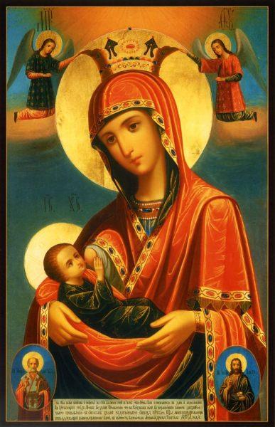 """Икона пресвятой богородицы """"млекопитательница"""" – православные молитвы"""