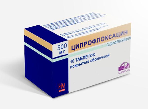 Лечение цистита ципрофлоксацином